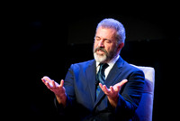 20.11.2017 Mel Gibson and JT Foxx on Stage